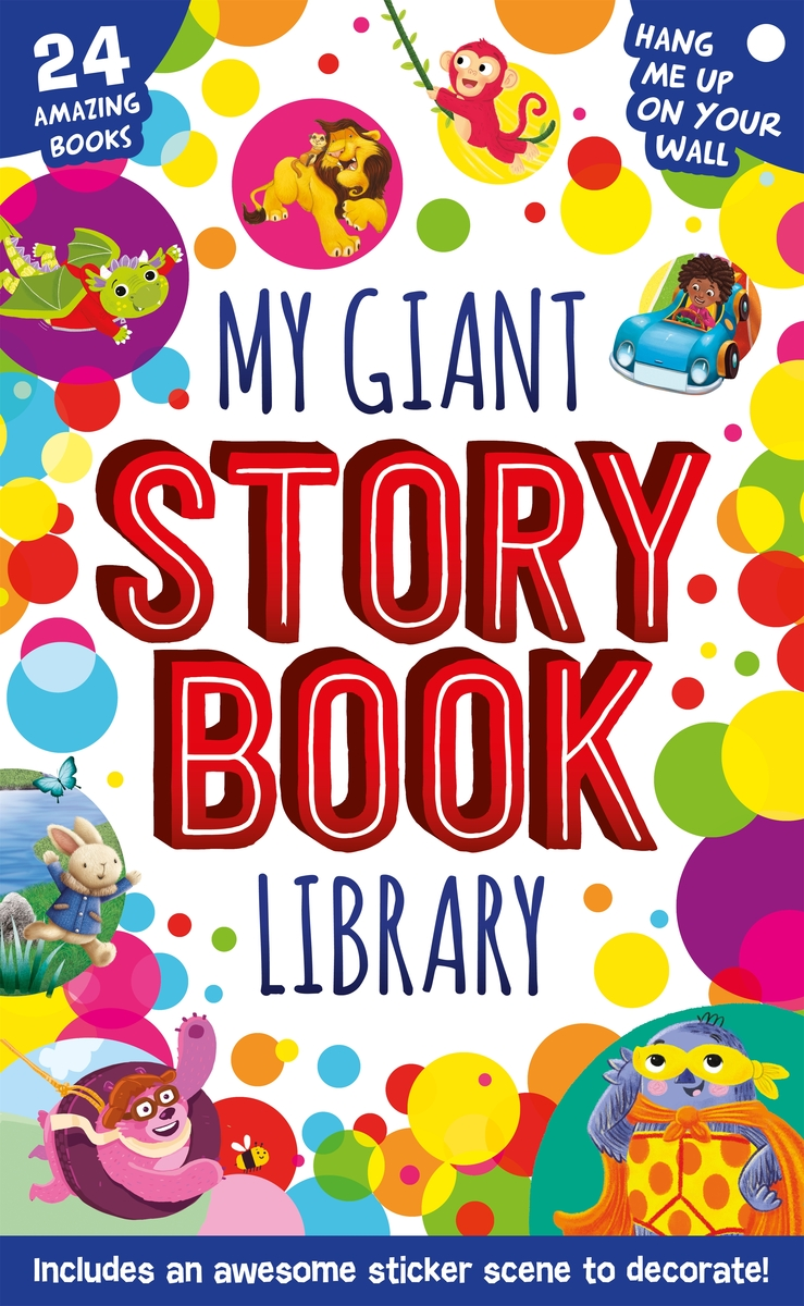 My Giant Storybook Library: portada