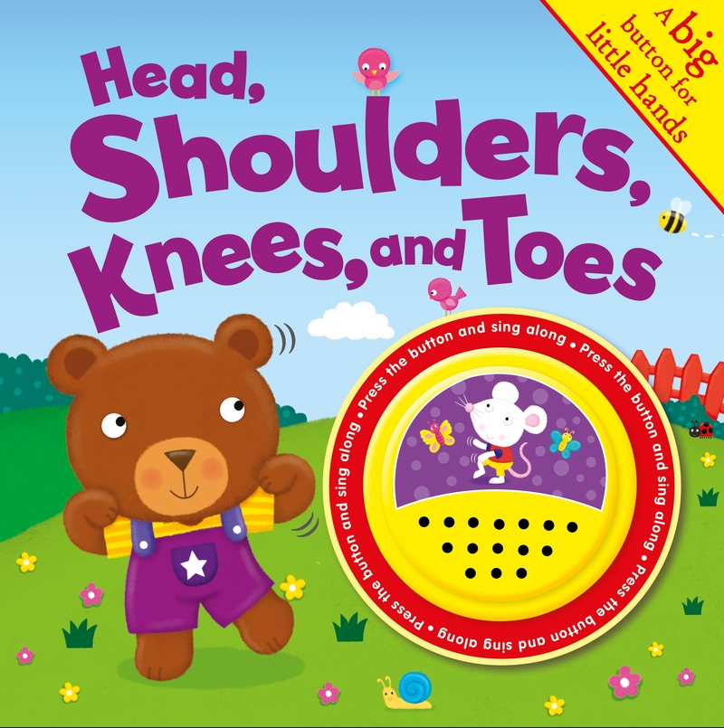 Head, Shoulders, Knees and Toes: portada