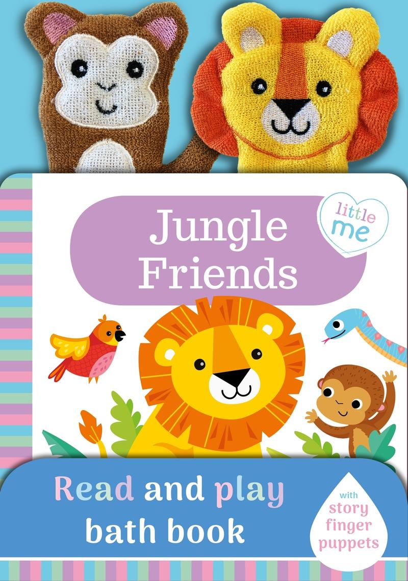 Jungle Friends (Bath Book): portada