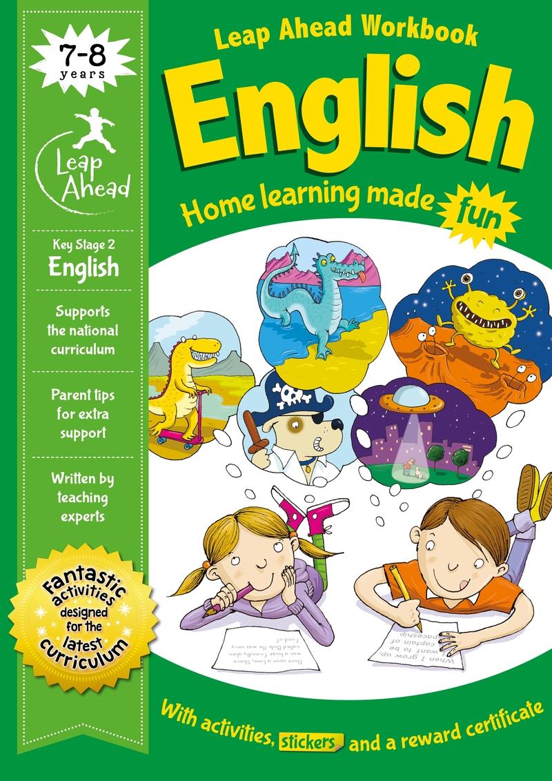 Leap Ahead: 7-8 Years English: portada