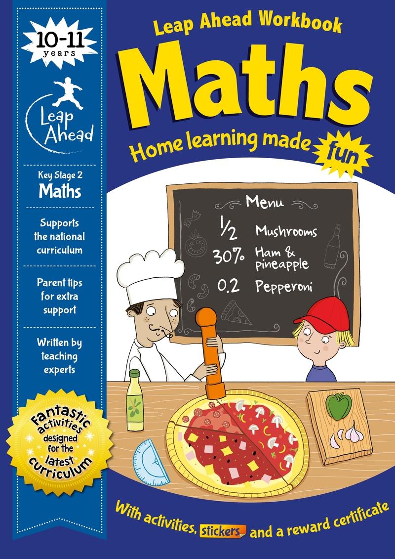 Leap Ahead: 10-11 Years Maths: portada