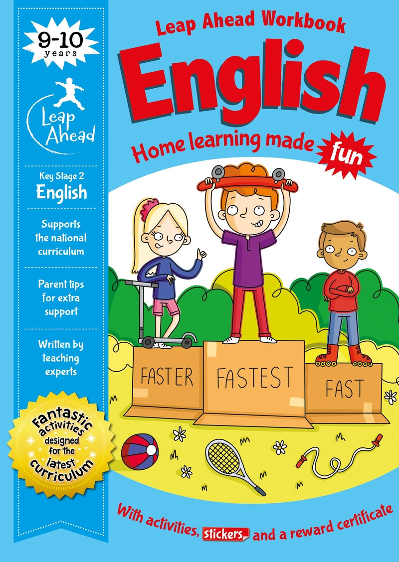 Leap Ahead: 9-10 Years English: portada