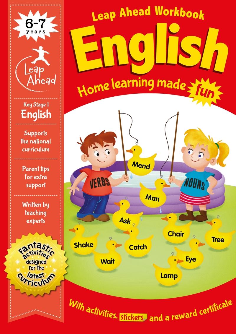 Leap Ahead: 6-7 Years English: portada