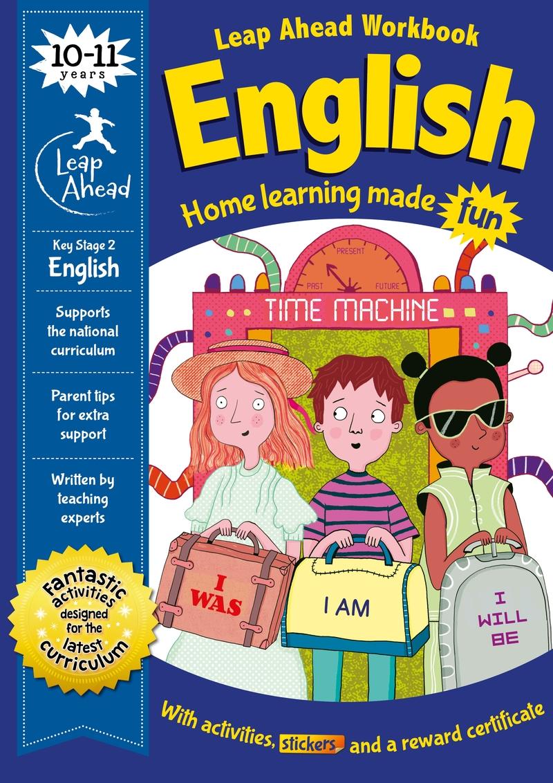 Leap Ahead: 10-11 Years English: portada
