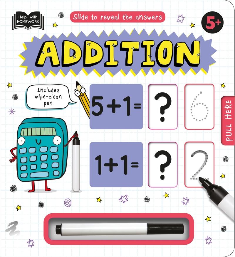Help with Homework: Addition 5+: portada