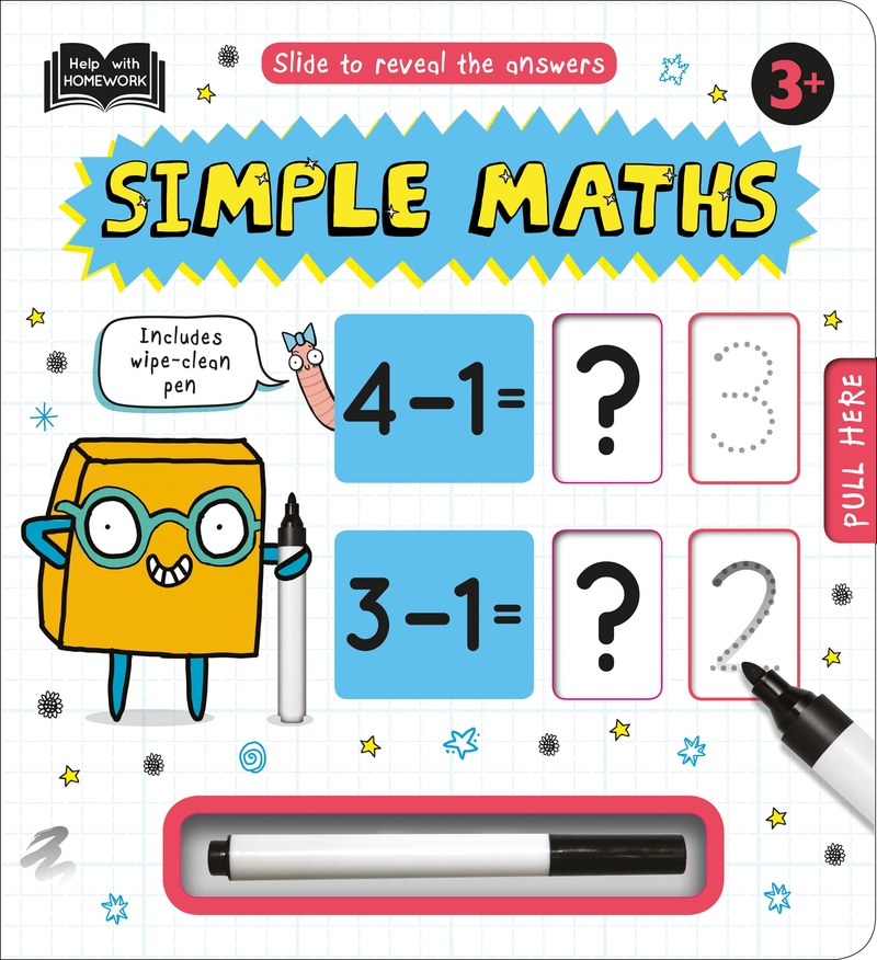 Help with Homework: Simple Maths 3+: portada