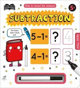 Help with Homework: Subtraction 5+: portada