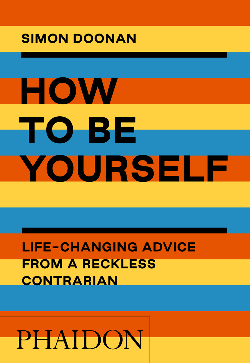 How to be yourself: portada