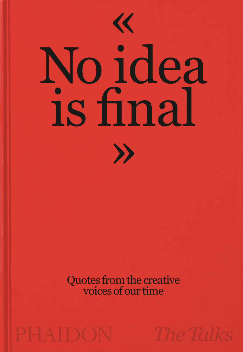 No Idea is Final: portada