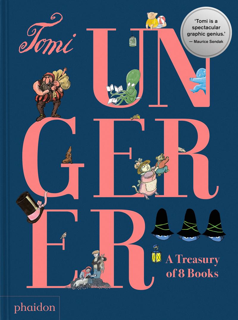 Tomi Ungerer: A Treasure of 8 books: portada