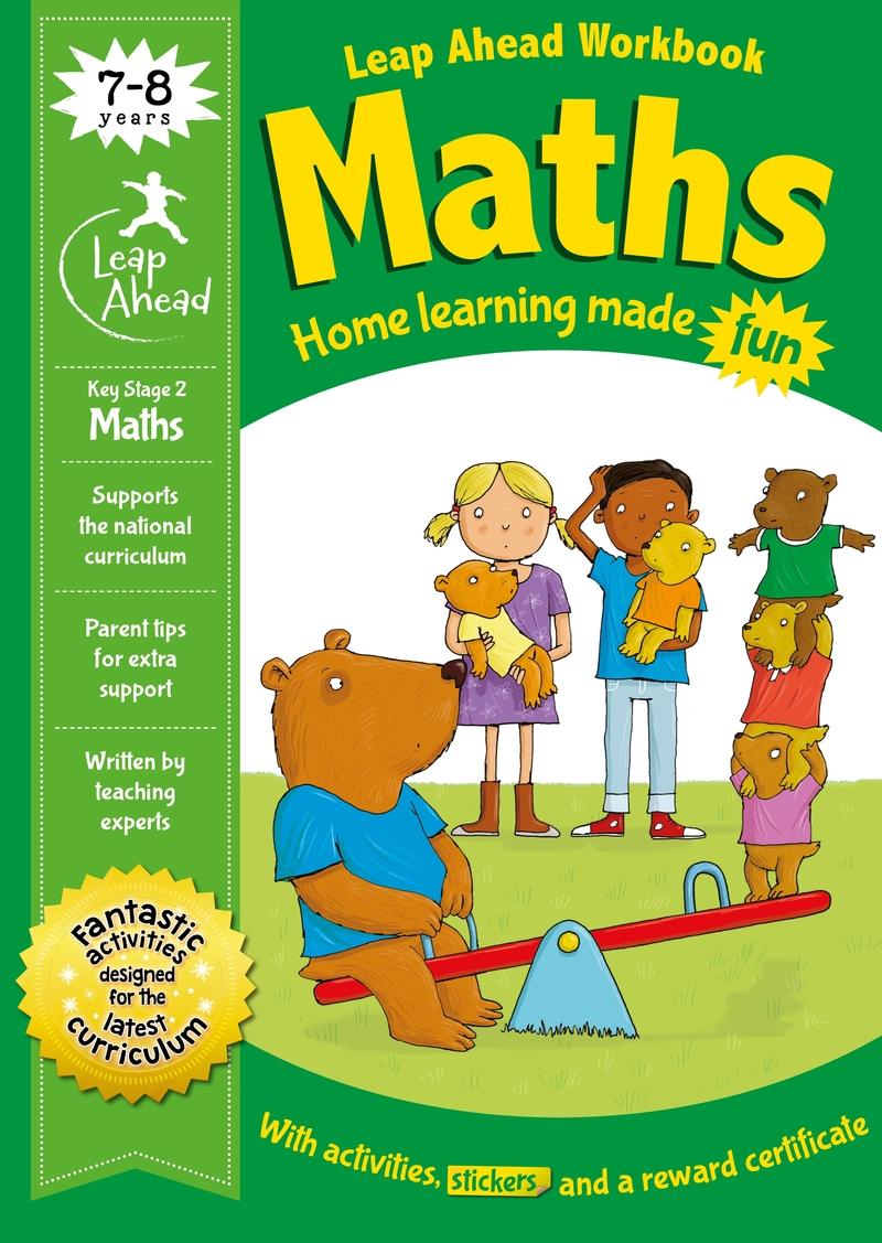 Leap Ahead: 7-8 Years Maths: portada