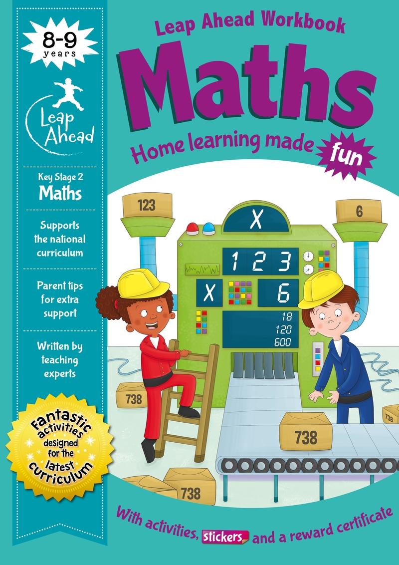 Leap Ahead: 8-9 Years Maths: portada