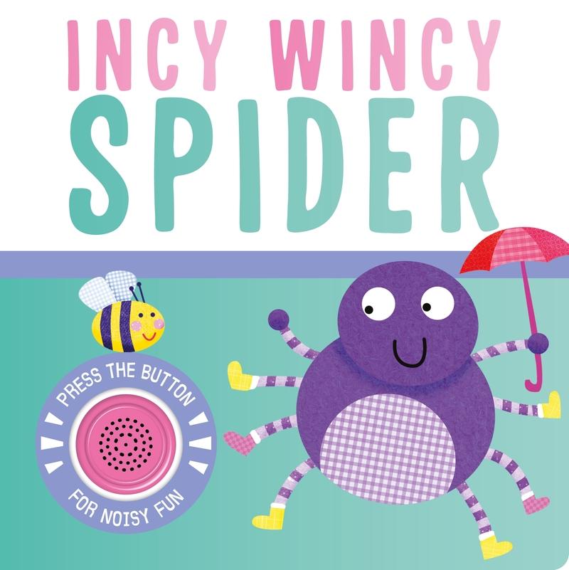 Incy Wincy Spider (Nueva edición): portada
