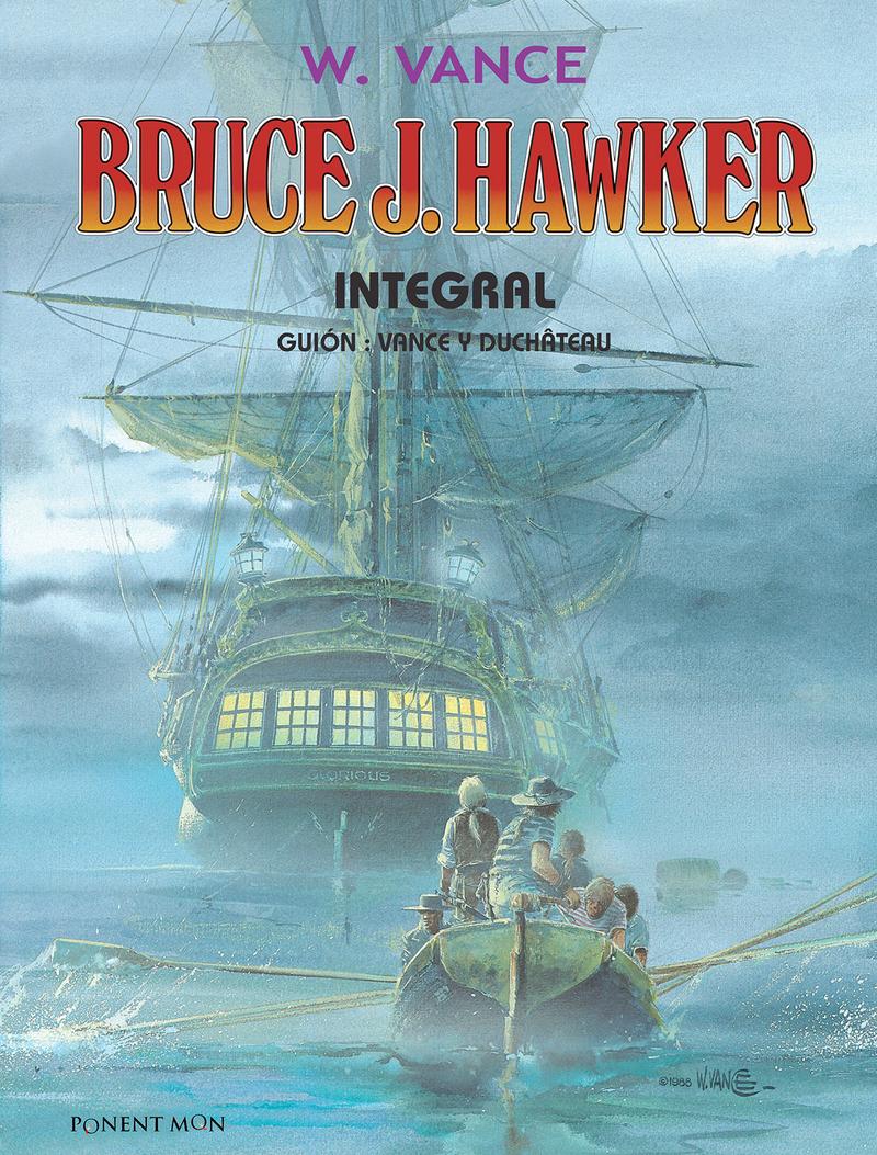 BRUCE J. HAWKER INTEGRAL: portada