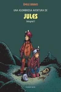 Una asombrosa aventura de Jules integral 1: portada