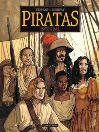Piratas integral: portada