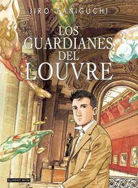 Los guardianes del louvre: portada