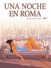 Una noche en Roma: portada
