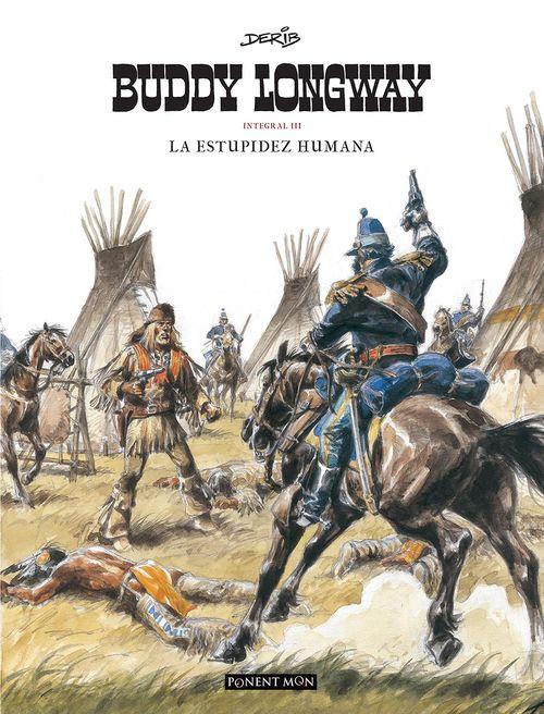 Buddy Longway integral 3: portada