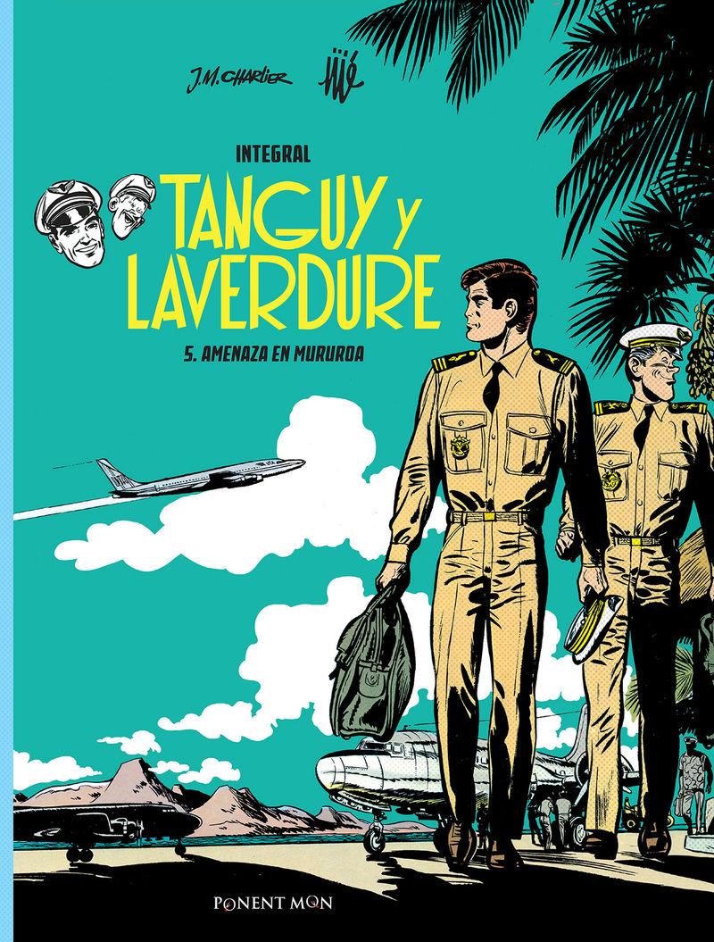 Tanguy y Laverdure integral 5: portada