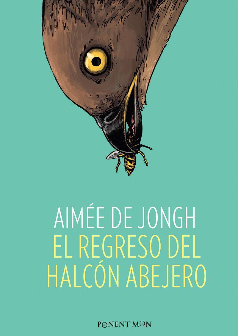 El regreso del halcón abejero: portada