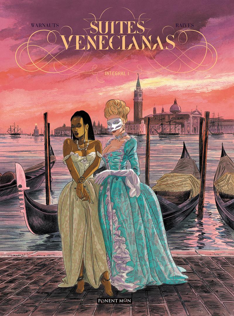 Suites venecianas  Integral 1: portada