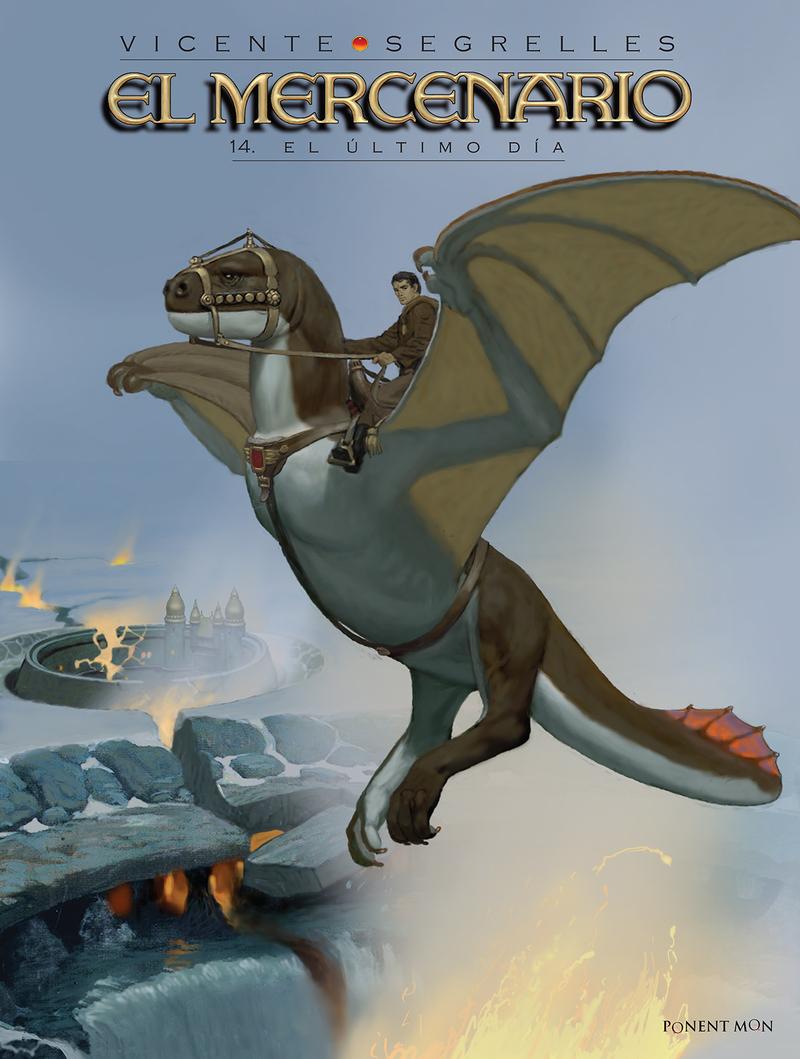 El Mercenario 14: portada