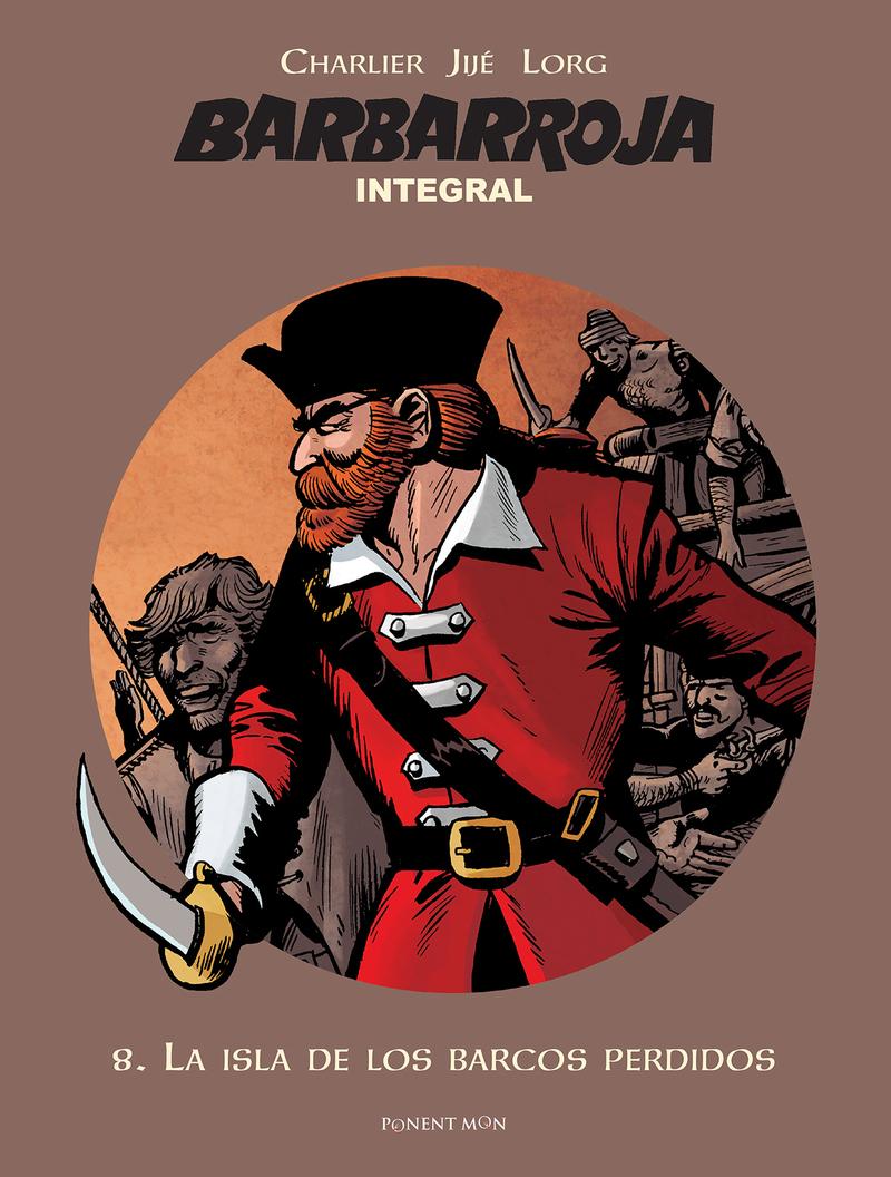 Barbarroja integral 8: portada