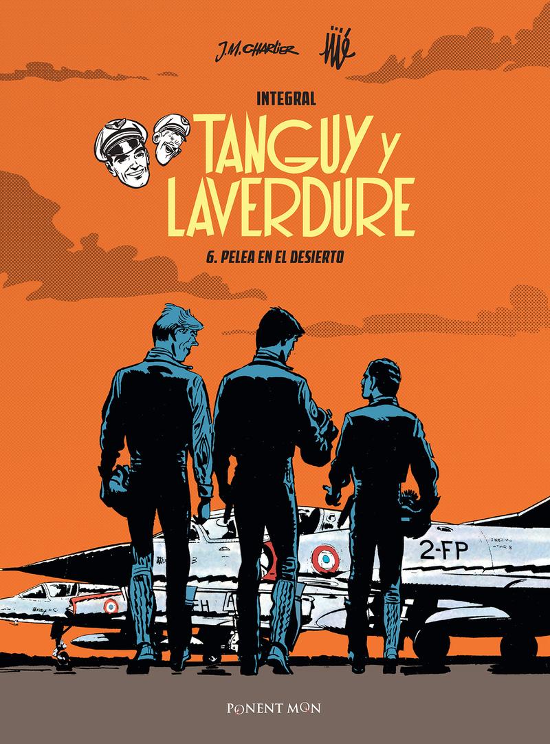 Tanguy y Laverdure integral 6: portada