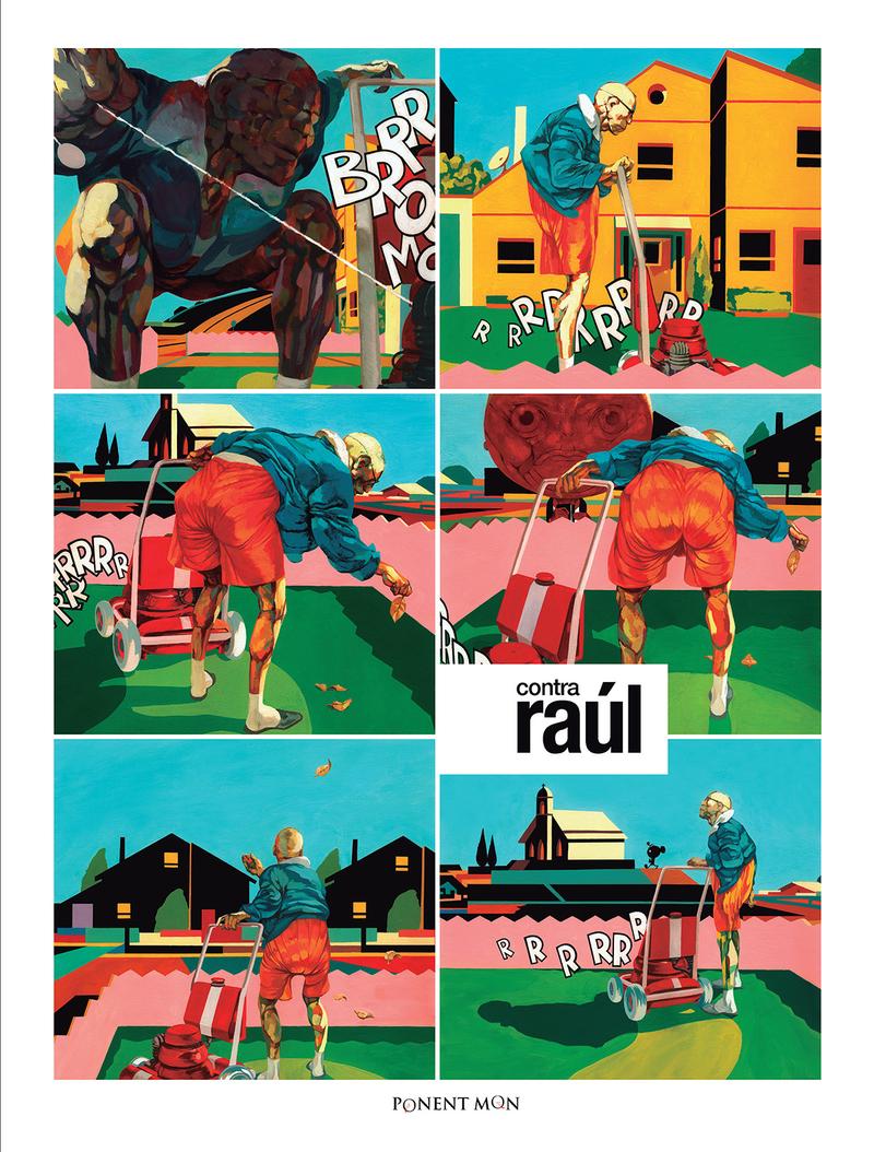 Contra Raúl: portada