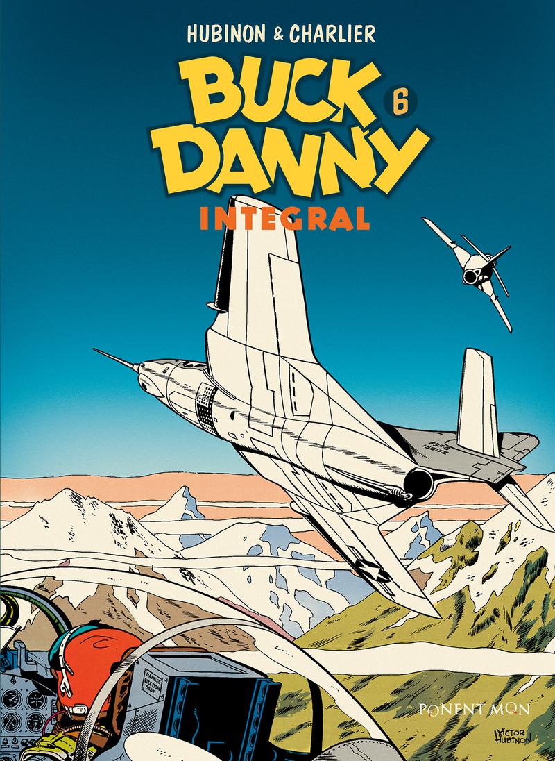 Buck Danny integral 6: portada