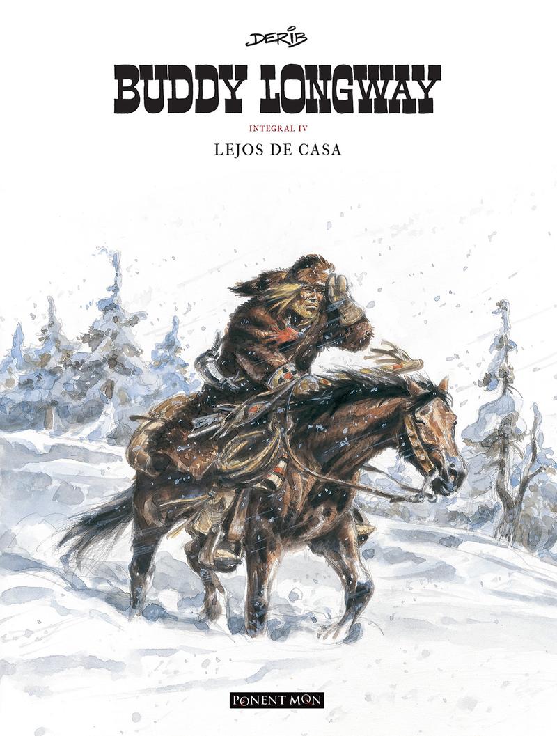 Buddy Longway integral 4: portada