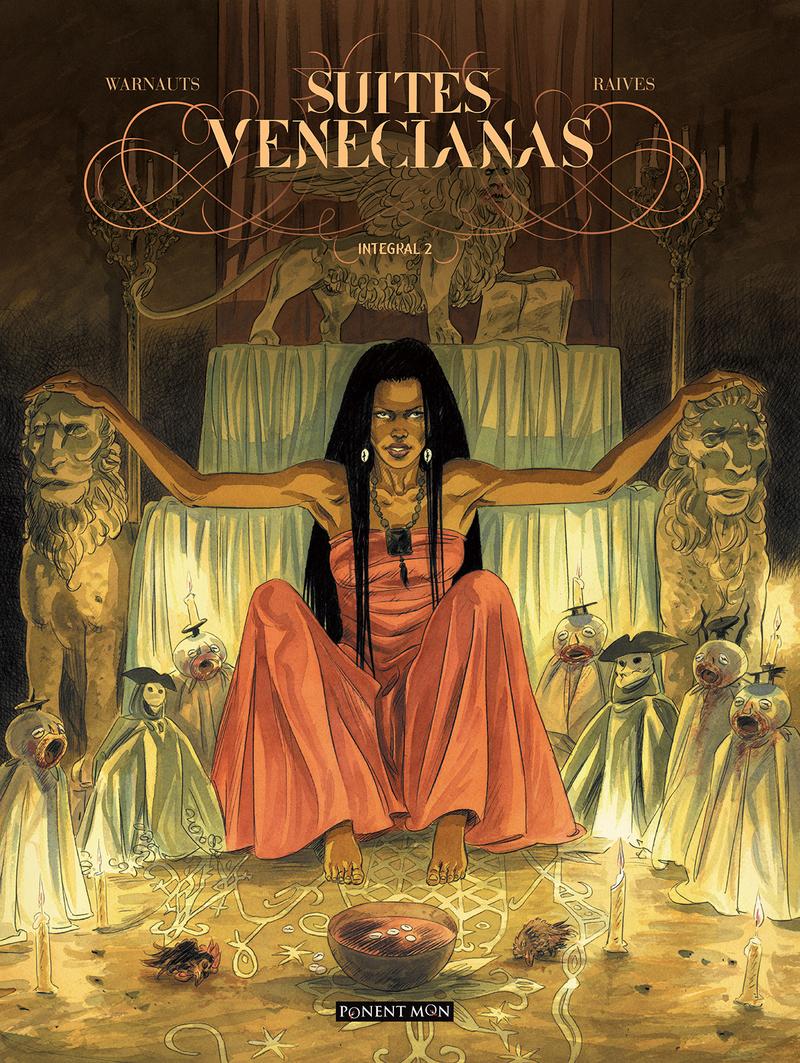 Suites venecianas integral 2: portada
