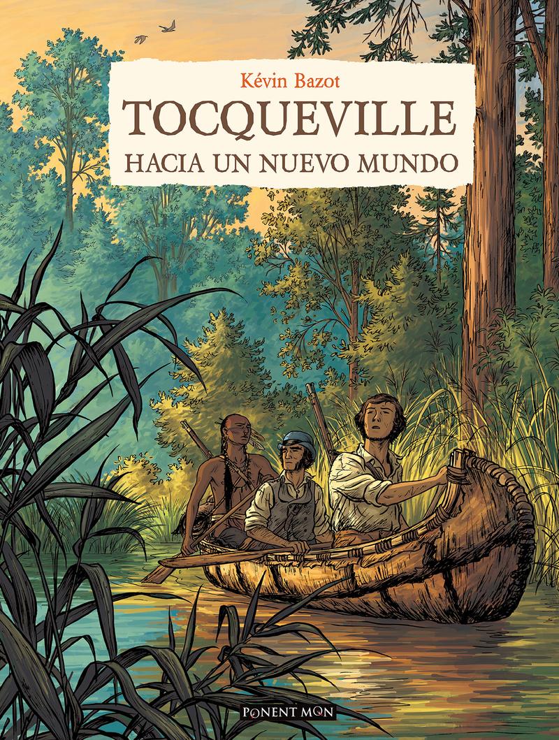 Tocqueville - hacia un nuevo mundo: portada