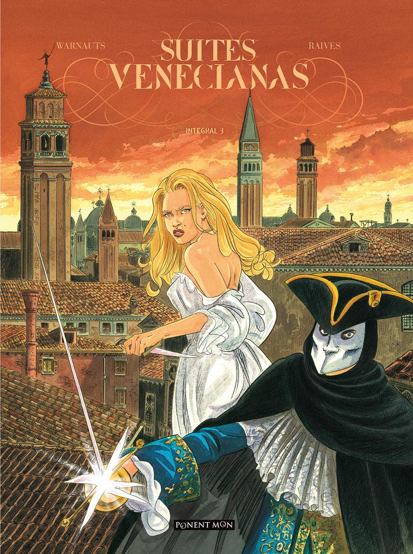 Suites venecianas integral 3: portada