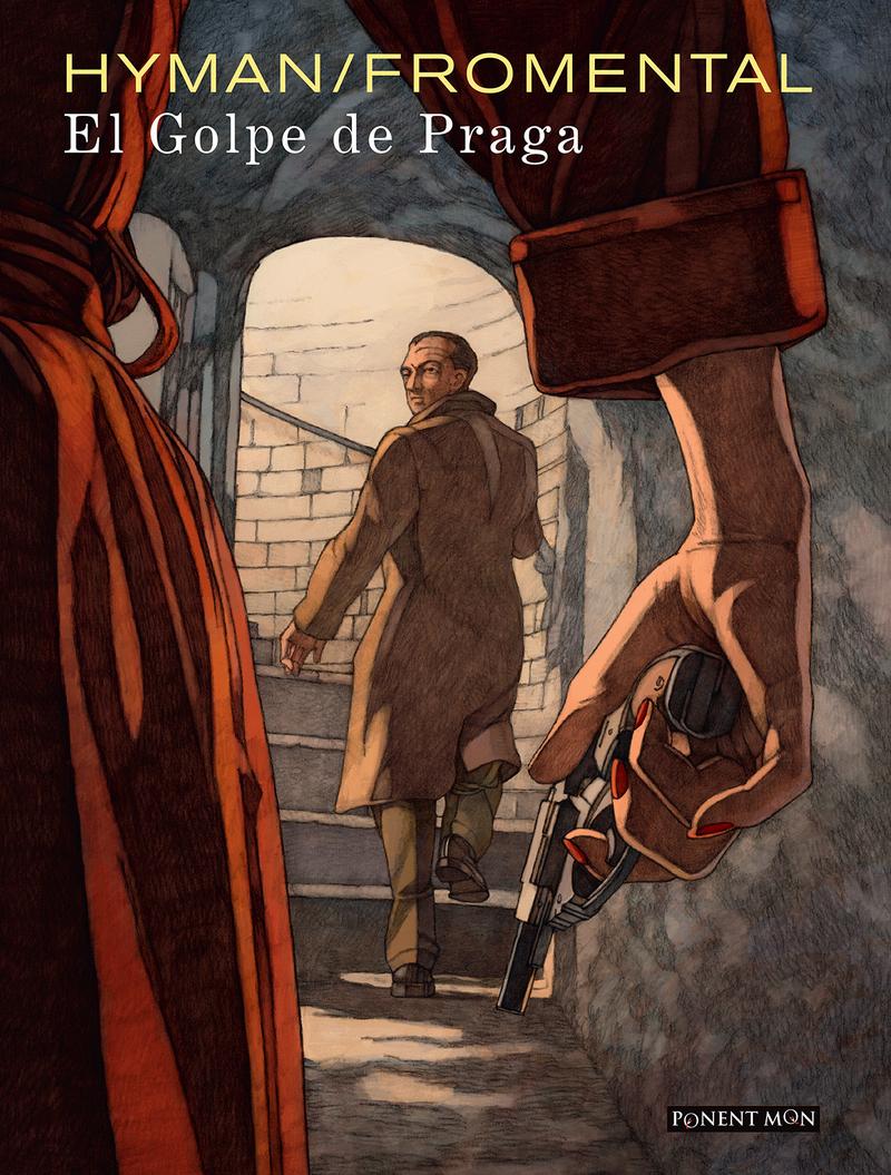 El golpe de Praga: portada