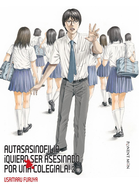 Autasasinofilia ¡Quiero ser asesinado por una colegiala! 2: portada