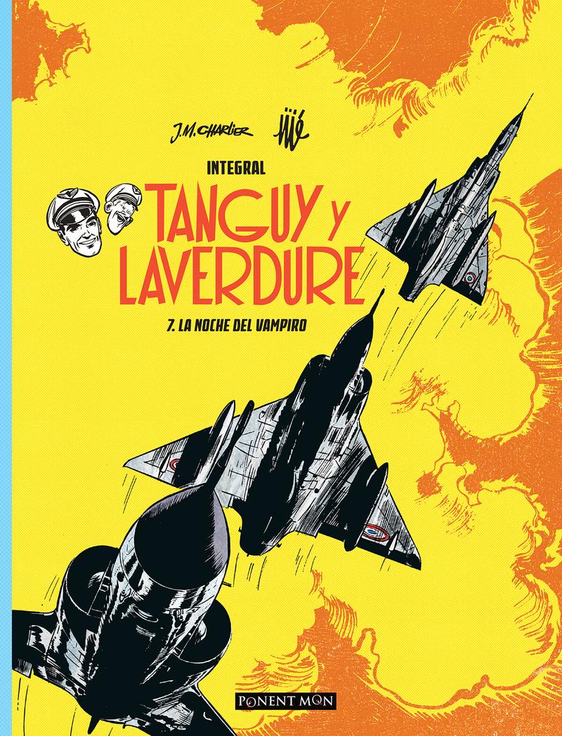 Tanguy y Laverdure integral 7: portada