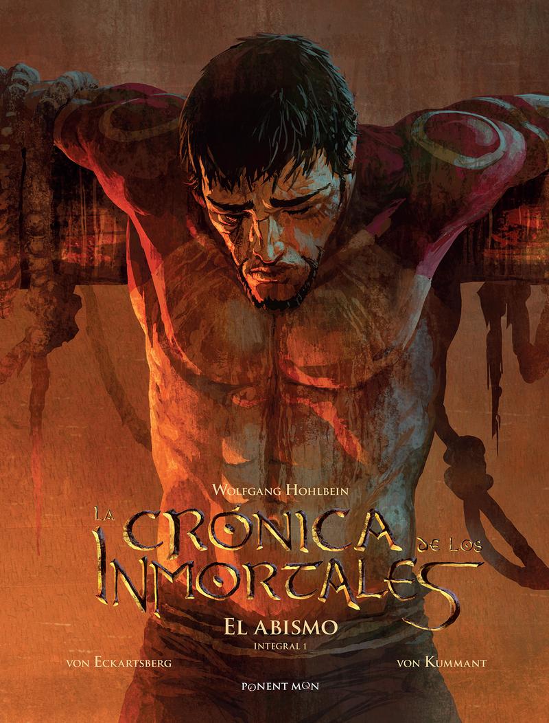 La crónica de los inmortales integral 1: portada