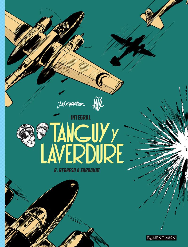 Tanguy y Laverdure integral 8: portada