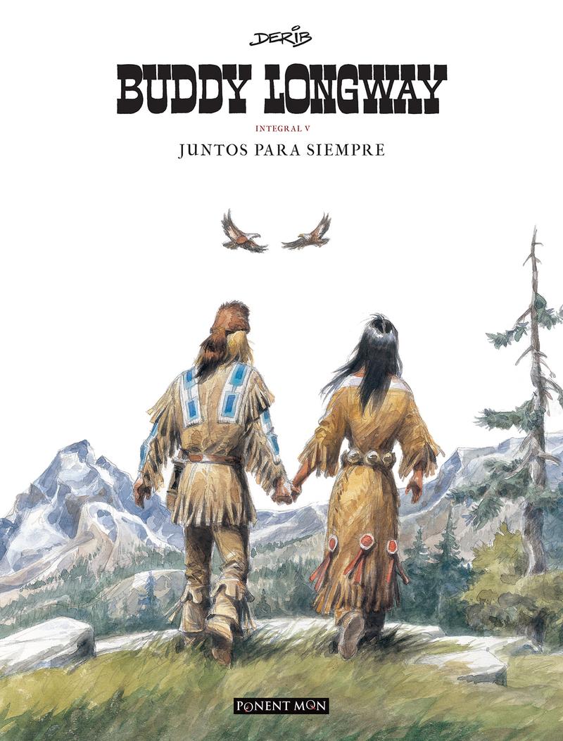 Buddy Longway integral 5: portada