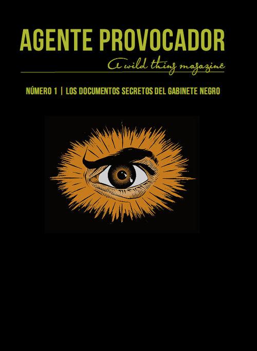 AGENTE PROVOCADOR (A WILD THING MAGAZINE) Nº1: portada