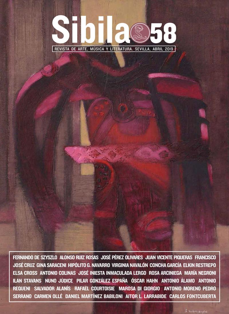 REVISTA SIBILA 58: portada