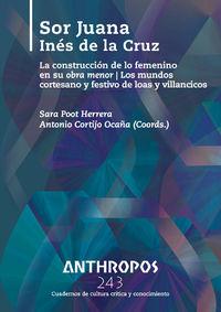 ANTHROPOS 243 SOR JUANA INÉS DE LA CRUZ: portada
