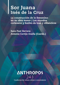 ANTHROPOS 243 SOR JUANA IN�S DE LA CRUZ: portada