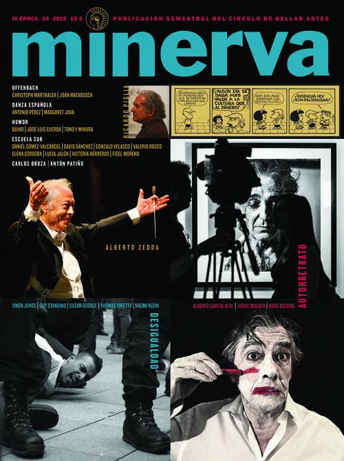 MINERVA 24 IV EPOCA 2015: portada