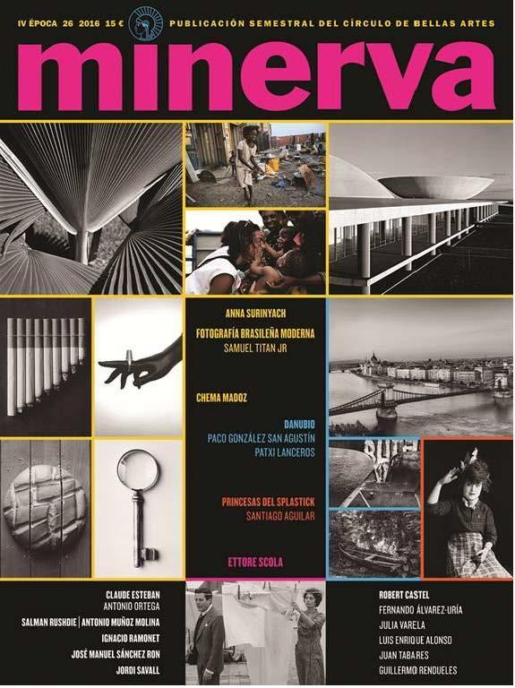 MINERVA 26 IV EPOCA 2016: portada