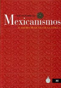 DICCIONARIO DE MEXICANISMOS: portada