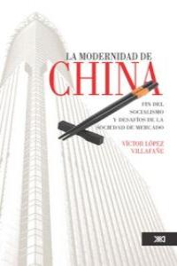 MODERNIDAD DE CHINA,LA: portada