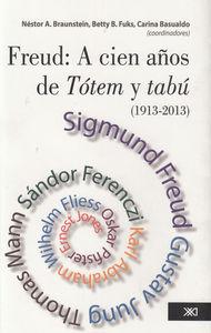 FREUD A CIEN A�OS DE TOTEM Y TABU 1913-2013: portada
